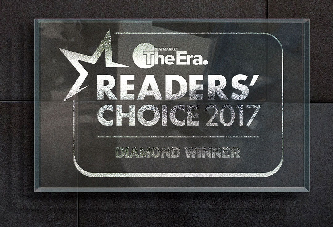 2017 Readers Choice Plaque