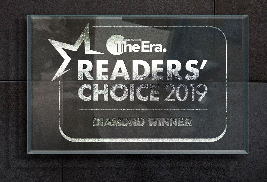 2019 Readers Choice Plaque